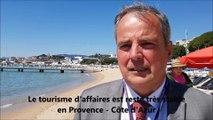 """""""Intégérer le facteur risque au tourisme d'affaires"""", Pierre-Louis Roucaries, président de Provence Côte d'Azur Events"""