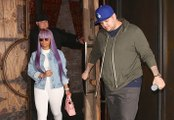 Rob Kardashian & Blac Chyna SPOTTED Enjoying Romantic Dinner Together