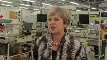 Theresa May insists net migration target stands