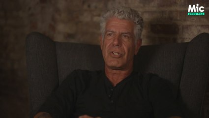 Anthony Bourdain shares the reason he hates haggling [Mic Archives]