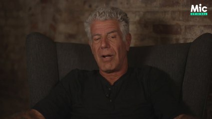 Anthony Bourdain spills on his past struggles with debt [Mic Archives]