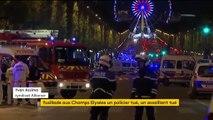 """Attentat sur les Champs-Elysées : """"Tous les policiers, ce soir, sont émus"""", réagit un responsable du syndicat Alliance"""