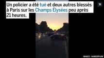 Fusillade sur les Champs-Élysées : images de l'évacuation de l'avenue
