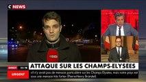 Fusillade Champs- Elysées : François Hollande s'exprime depuis l'Elysée