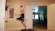 Funny Kids Bask ketball Kids - Kids Basket