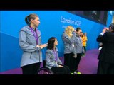 Swimming - Women's 4x100m Freestyle Relay - 34pts Victory Ceremony - London 2012 Paralympic Games