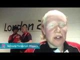 IPC Blogger - Amy Kneebone - Canada goalball team, Paralympics 2012