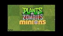 Plants vs zombies ANIMATION Plants vs Minions (Cartoon)