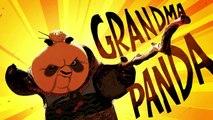 Po Teaches Kung Fu - Grandma Panda - KUNG FU PANDA 3