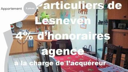 A vendre - Appartement - Lesneven (29260) - 3 pièces - 57m²