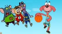 RAT A TAT| How Don Play Basketball Like Scary Shark Attack  | Chotoonz Kids Funny Cartoons