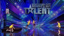 Face Team basketball acrobatics Britains Got Talent 2012 audition International version
