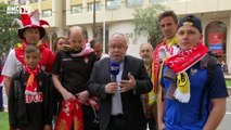 Union sacrée entre supporters de Monaco et Dortmund