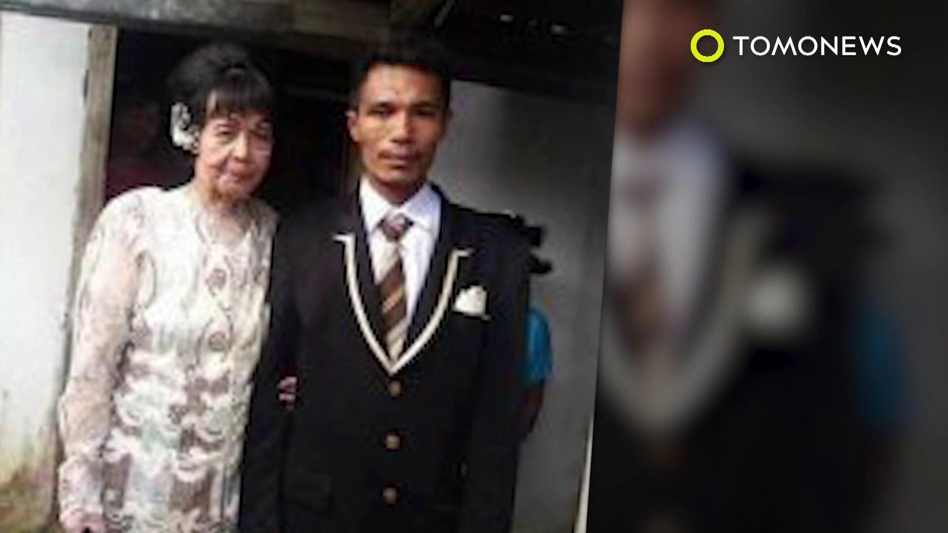 Suami istri romantis di Kamboja, wanita cantik tapi prianya tidak menarik jadi viral - Tomonews
