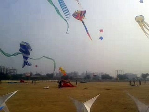 International Kites festival,Dwarka