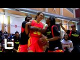 "Girl Dunks Twice! 6'3"" Breanna Stewart Puts Down 2 Dunks In McDonald's All American Dunk Contest!"