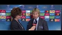 Monaco-Juventus- le reazioni di NEDVED e GIULY  post sorteggio Champions League
