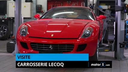 Visite de la carrosserie Lecoq Paris !
