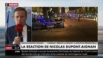 Nicolas Dupont-Aignan réagit sur CNEWS