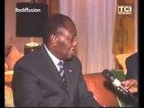 Le chef de l'Etat,SEM Alassane Ouattara a rendu visite au Président du RHDP SEM Konan Bédié