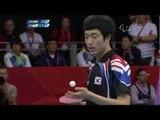 Table Tennis - HUN vs KOR - Men's Singles - Class 11 Gold Medal match - London 2012 Paralympic Games