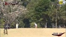 ゴルフ対決 プロゴルファー中島弘二 VS 技のゴルフのト