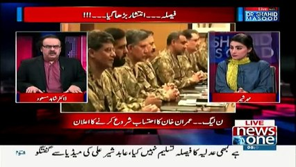 Live With Dr. Shahid Masood - 21st April 2017