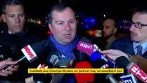 Attentat sur les Champs-Elysées : Il n'y avait pas de menace particulière contre les Champs-Elysées !