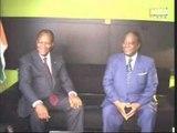 Le Président du RHDP Henry Konan Bédié a reçu en audience le Pr Alassane.O et Soro.G