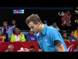Table Tennis - CHN vs POL - Men's Singles - Class 10 Gold Medal Match - London 2012 Paralympic Games