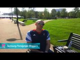 Samsung Blogger - Ian Sagar - Paralympics GB Wheelchair Basketball, Paralympics 2012