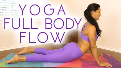 Total Body Yoga with Sanela | Tone, Strength & Flexibility, 25 Minute Class at Home