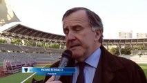 Interview de PIERREFERRACCI président de Paris FC et composition des équipes...