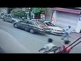 Janakpuri hit-and-run : CCTV footage of speeding car hitting pedestrians | Oneindia News