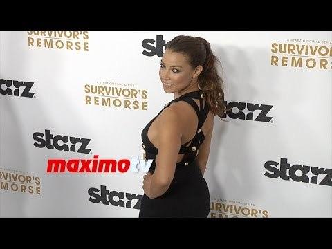 Jessica Parker Kennedy | Survivor's Remorse Premiere | ARRIVALS