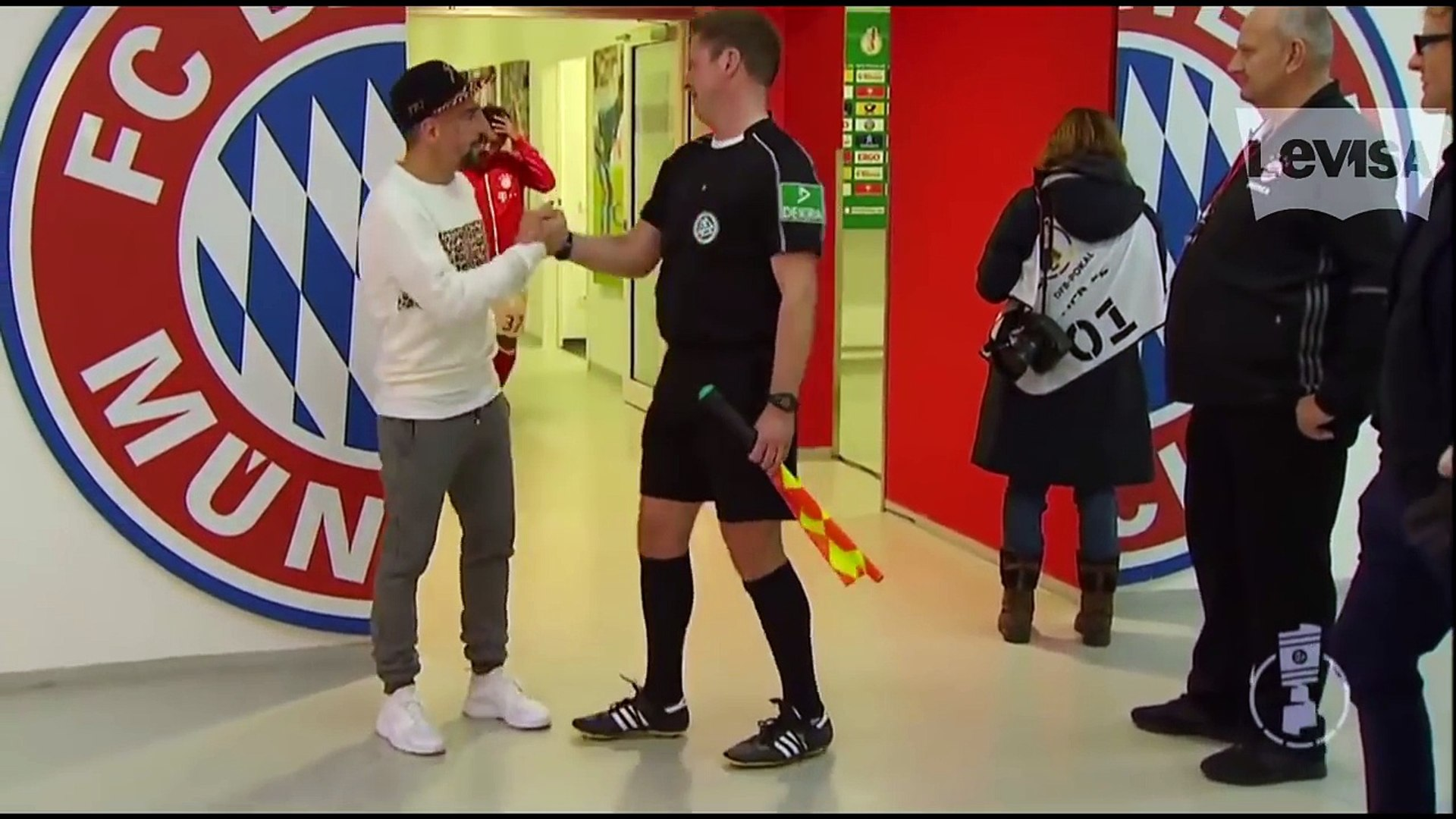 Frank Ribery Crazy Or Not- ●Funny Moments and Bloopers [Funniest Moments, French Joker] lustig