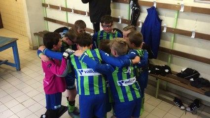 Victoire 9 à 1 pour les U11 contre Aulnoy-lez-Valenciennes !