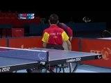 Table Tennis - CHN vs SRB - Men's Singles - Class 3 Gold Medal Match - London 2012 Paralympic Games