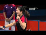 Table Tennis - CHN vs SRB - Women's Singles - Cl 4 Gold Medal Match - London 2012 Paralympic Games