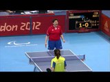 Table Tennis - FRA vs CHN - Women's Singles - Cls 8 Gold Medal Match - London 2012 Paralympic Games
