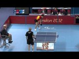 Table Tennis - CHN vs AUT - Men's Singles - Class 9 Gold Medal Match - London 2012 Paralympic Game