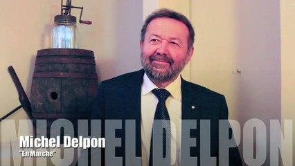 """Présidentielles 2017, réaction de Michel Delpon """"En Marche"""""""