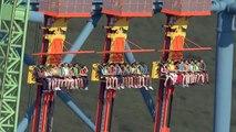 Cette attraction carrément folle a 126 mètres de chute libre à 140 km h