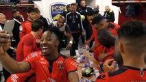 FC Sochaux / Gazélec Ajaccio : la joie des vainqueurs