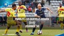 J30 : Paris FC - US Quevilly-Rouen (0-0), le résumé