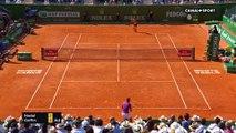 Gros clash lors du match David Goffin - Rafael Nadal