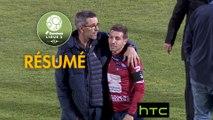 Clermont Foot - ESTAC Troyes (1-1)  - Résumé - (CF63-ESTAC) / 2016-17