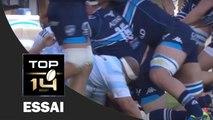 TOP 14 ‐ Essai Kelian GALLETIER (MHR) – Montpellier - Racing 92 – J21 – Saison 2016/2017