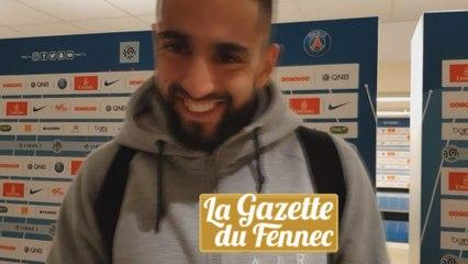 Ryad Boudebouz en zone mixte après PSG 2-0 MHSC