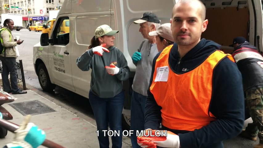 Earth Day 2017 - Cleaning & Mulching New York City